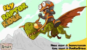 dino fly raptor rider app link